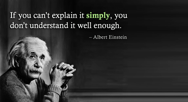 Albert einstein clarity